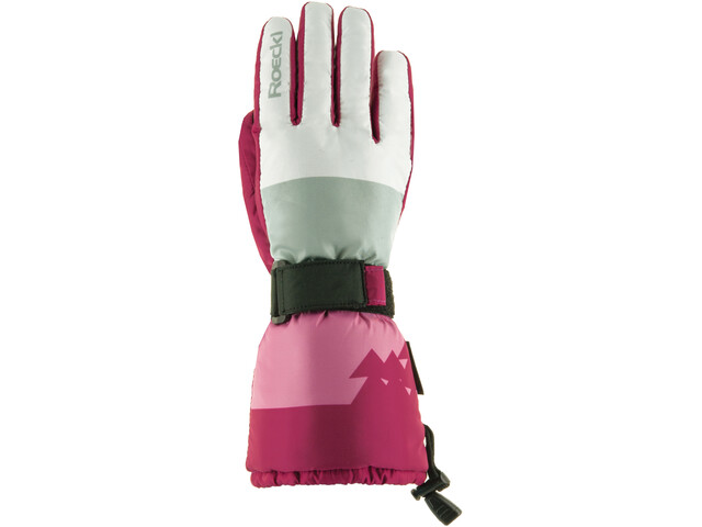 Roeckl Arlberg Gloves Kids white/berry